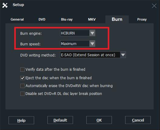burning failure